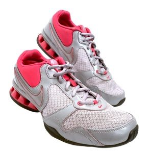 Nike Reax Rockstar Silver Pink Training Shoes 8.5